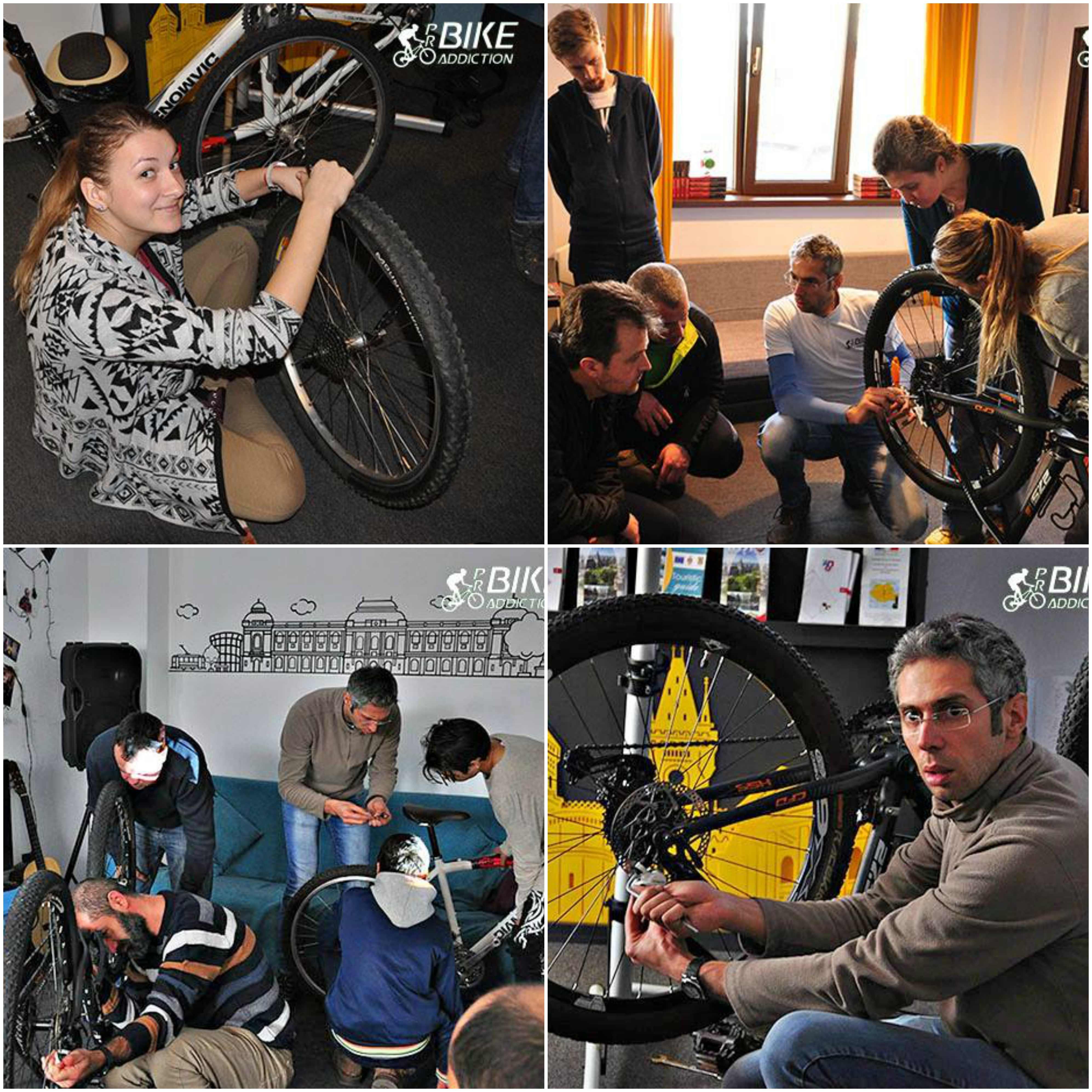 probikeaddiction cursuri mecanica biciclete iasi