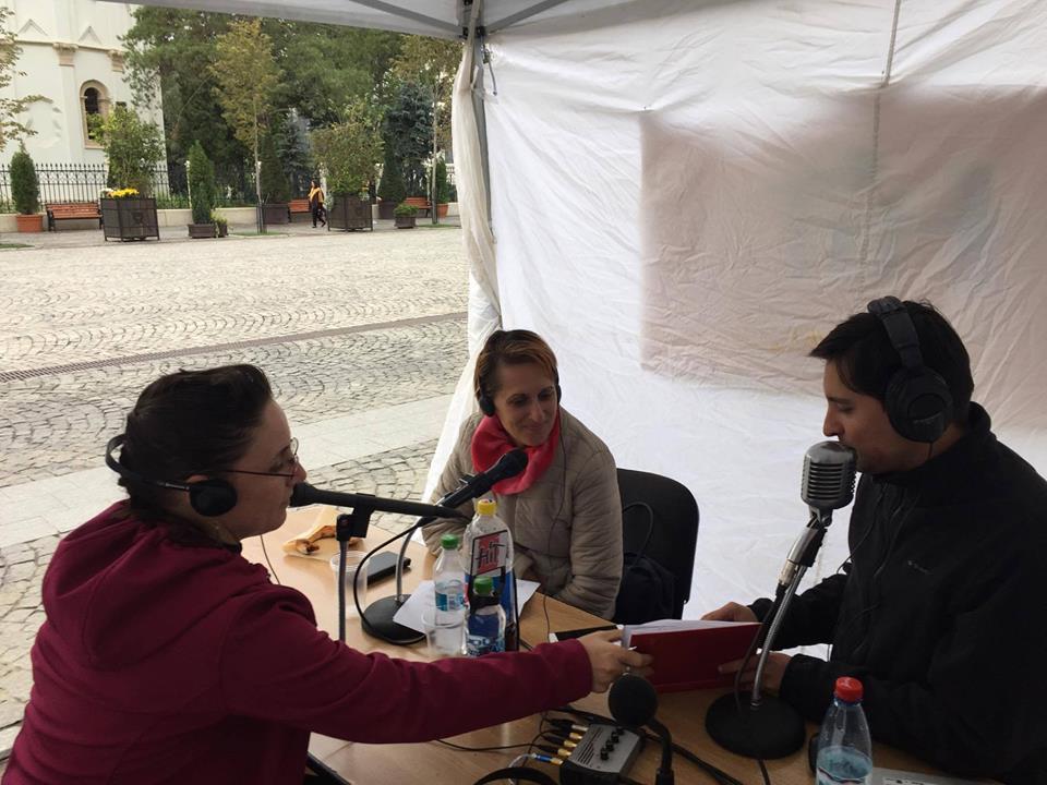Ioana Amariutei Popa ProBikeAddiction Radio Hit