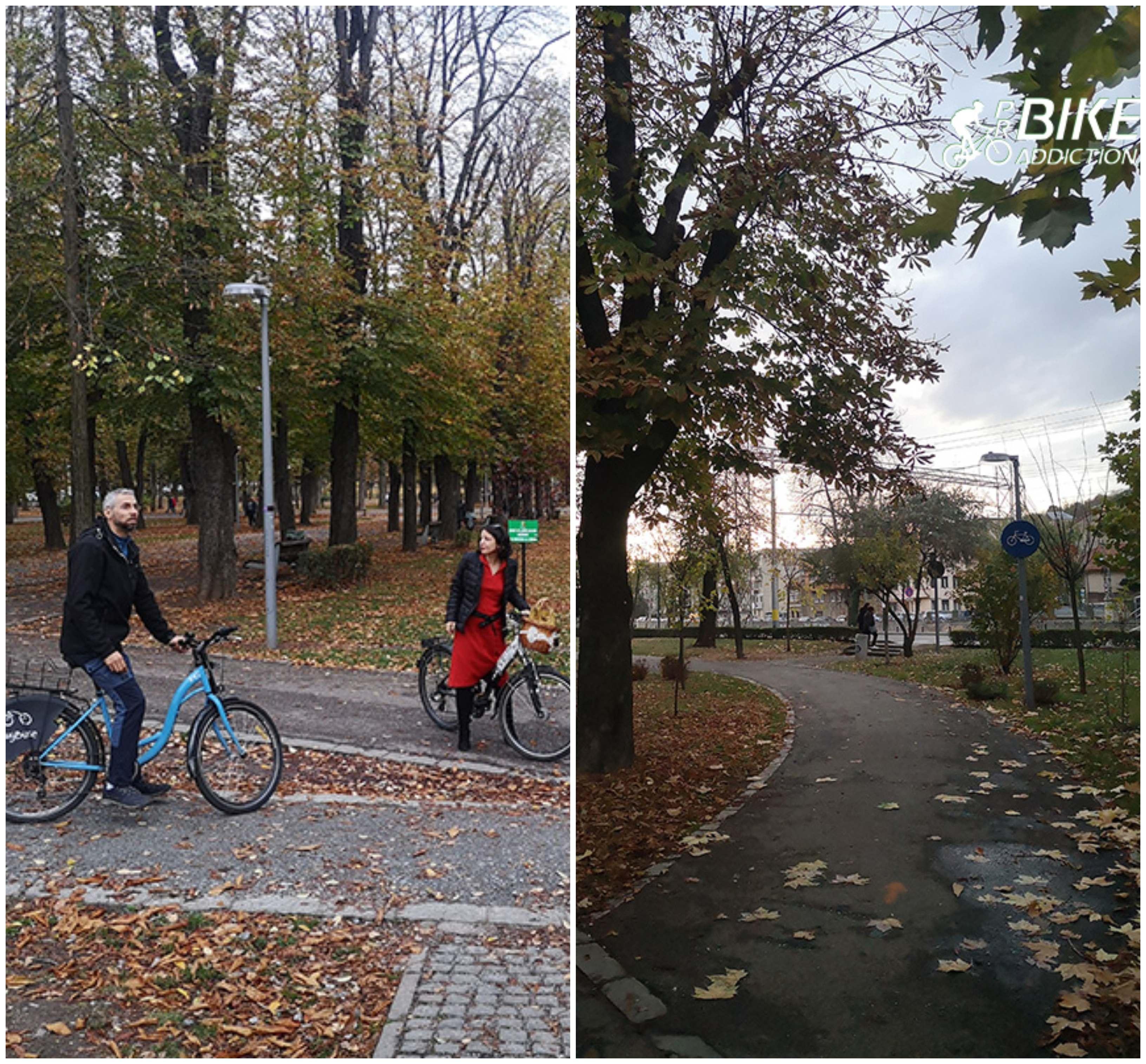 probikeaddiction cluj parcul central infrastructura biciclistica