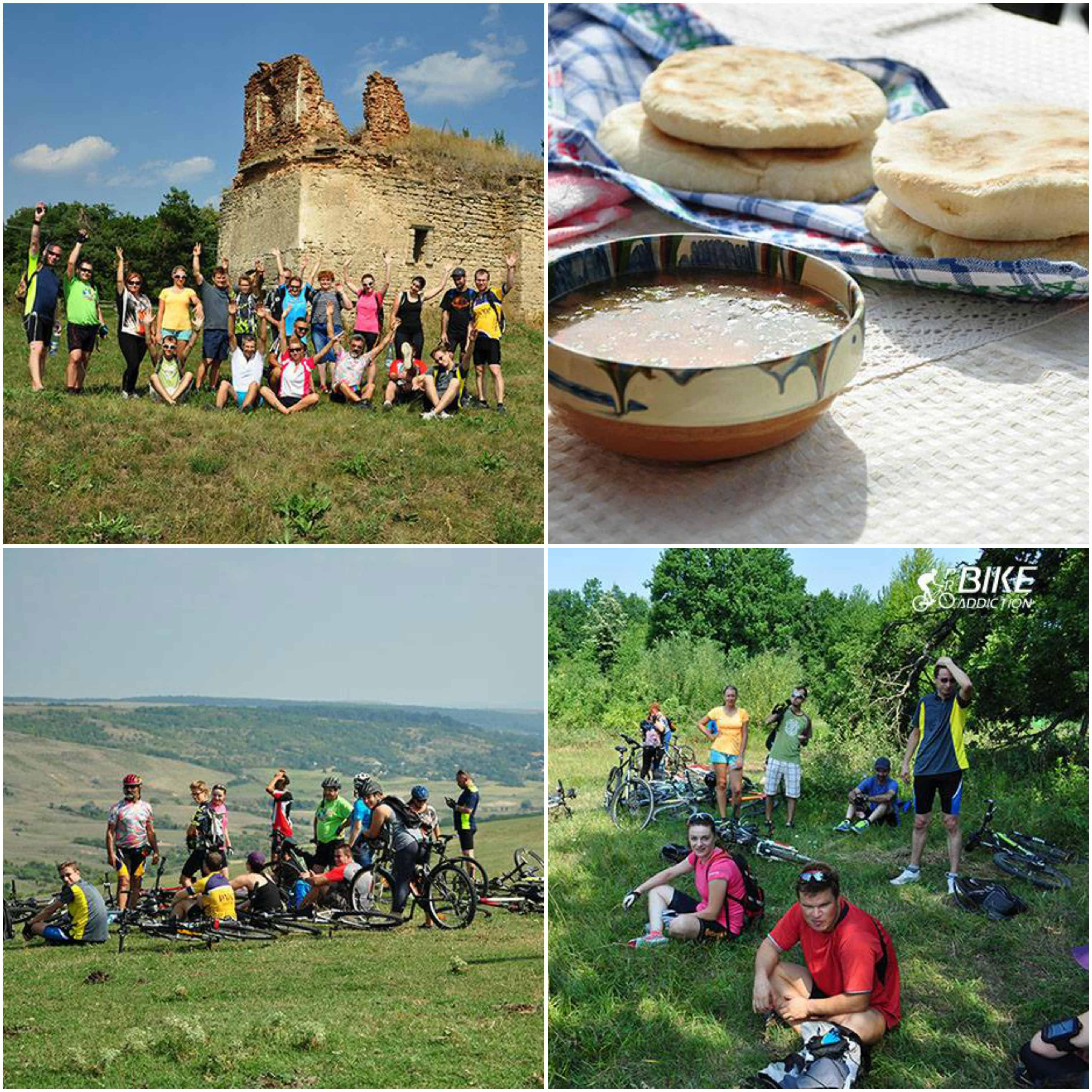 probikeaddiction cycling romania traditional food bike tours