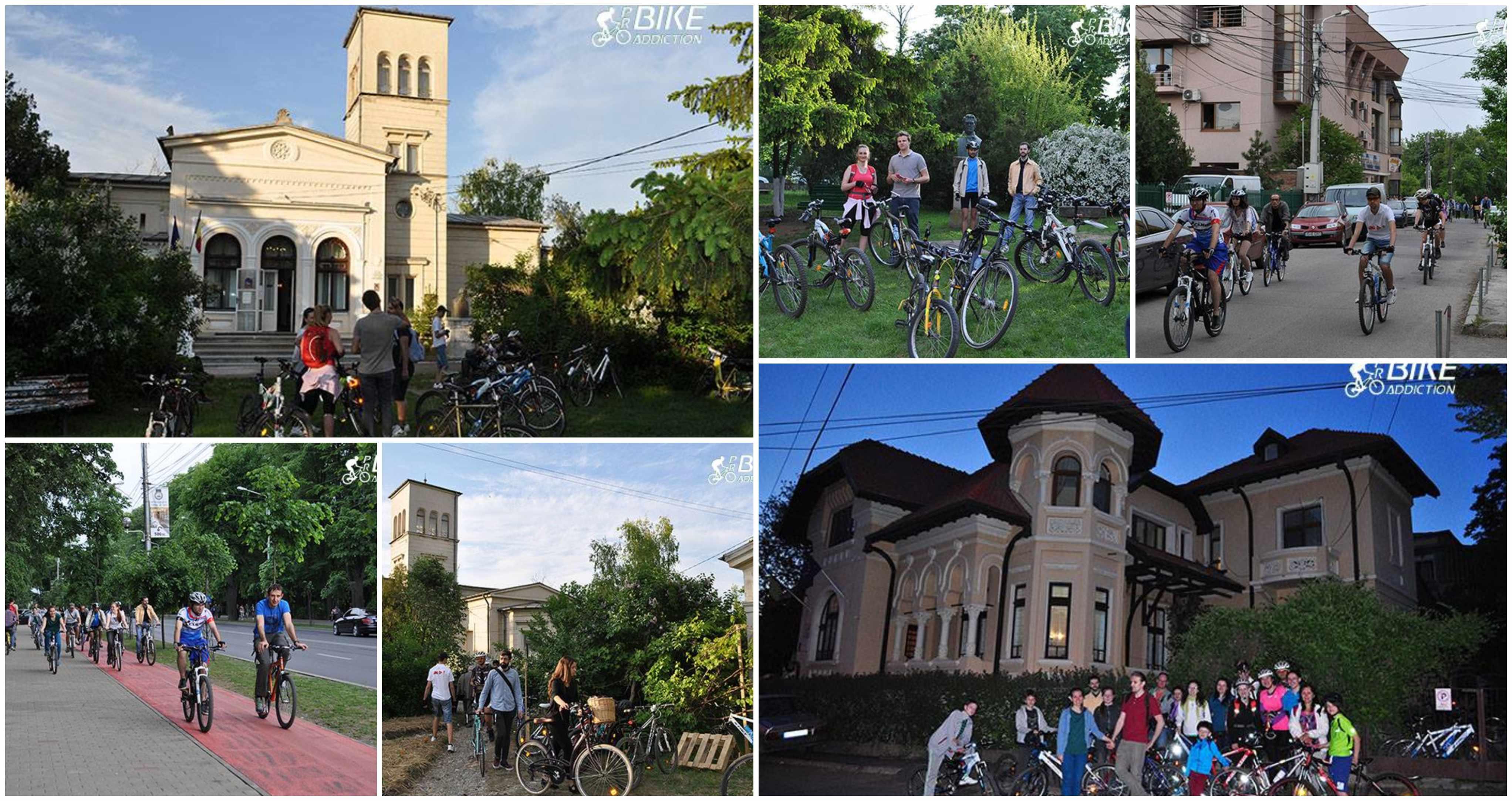 probikeaddiction noaptea muzeelor pe bicicleta