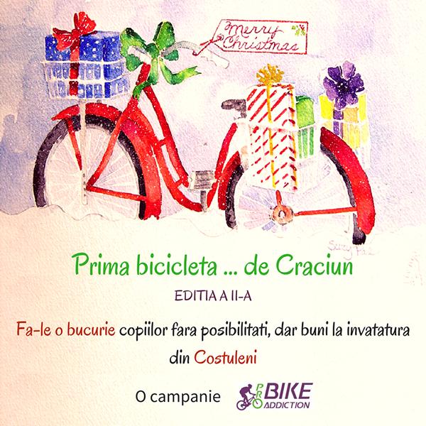 probikeaddiction prima bicicleta de craciun
